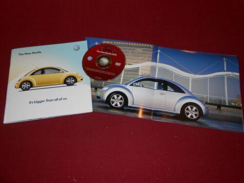 CATALOG CD VW BUG NOS ORIGINAL 2006 VOLKSWAGEN NEW BEETLE 22 Page BROCHURE