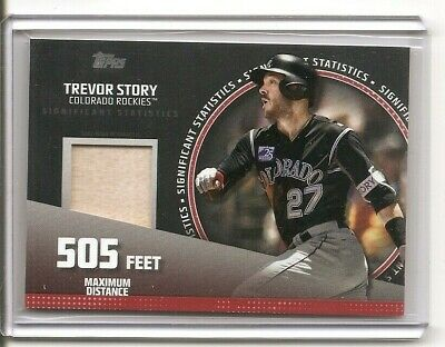new style b1a4d 10148 2019 Topps Series 2 Trevor Story Significant Statistics Bat Card /25  Rockies | eBay