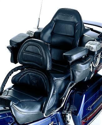 HONDA 88-00 GL 1500 GL1500 GOLDWING PASSENGER ARM REST KIT BLACK