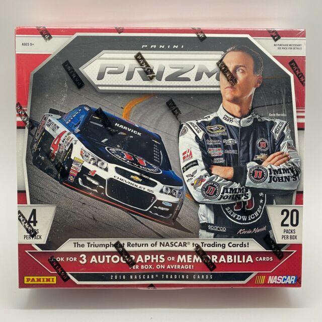 2016 Panini Prizm NASCAR Racing RARE Hobby Box Sealed