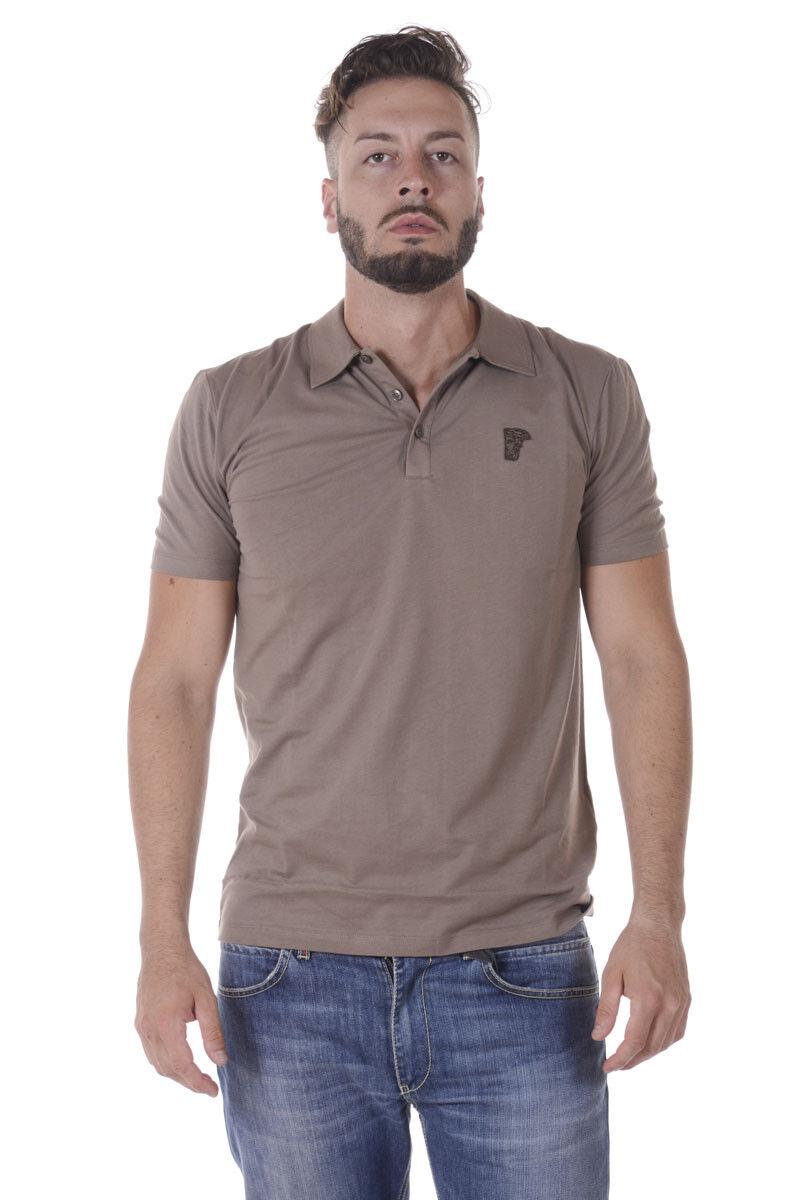 Versace Collection Polo Shirt Cotton Man brauns V800708VJ00180 V1100