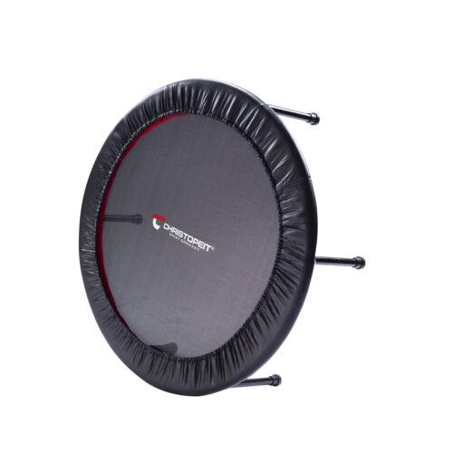 Fitness Trampolin faltbar 75cm Sprungfläche Elastikbänder 100kg Benutzergewicht