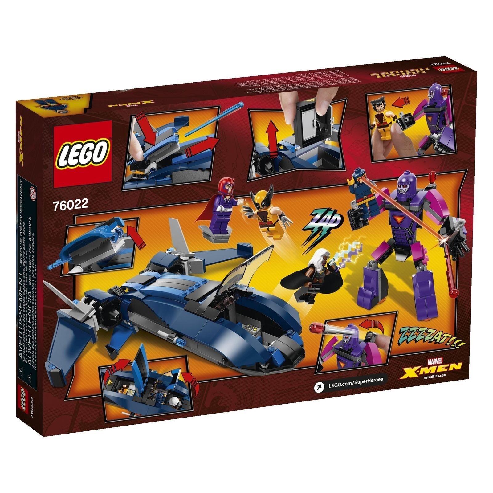 Profitez de la fin de l'année, l'année, l'année, copiez le prix du cadeau, c'est au-delà de votre imagination! Lego-Marvel Super Heroes-X-Hommes  Vs. The Sentinel - 76022-New 8e2842