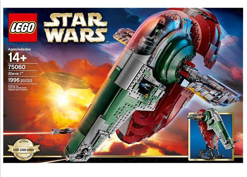 LEGO ® Star Wars ™ 75060 Slave I nouveau neuf dans sa boîte NEW En parfait état, dans sa boîte scellée Boîte d'origine jamais ouverte