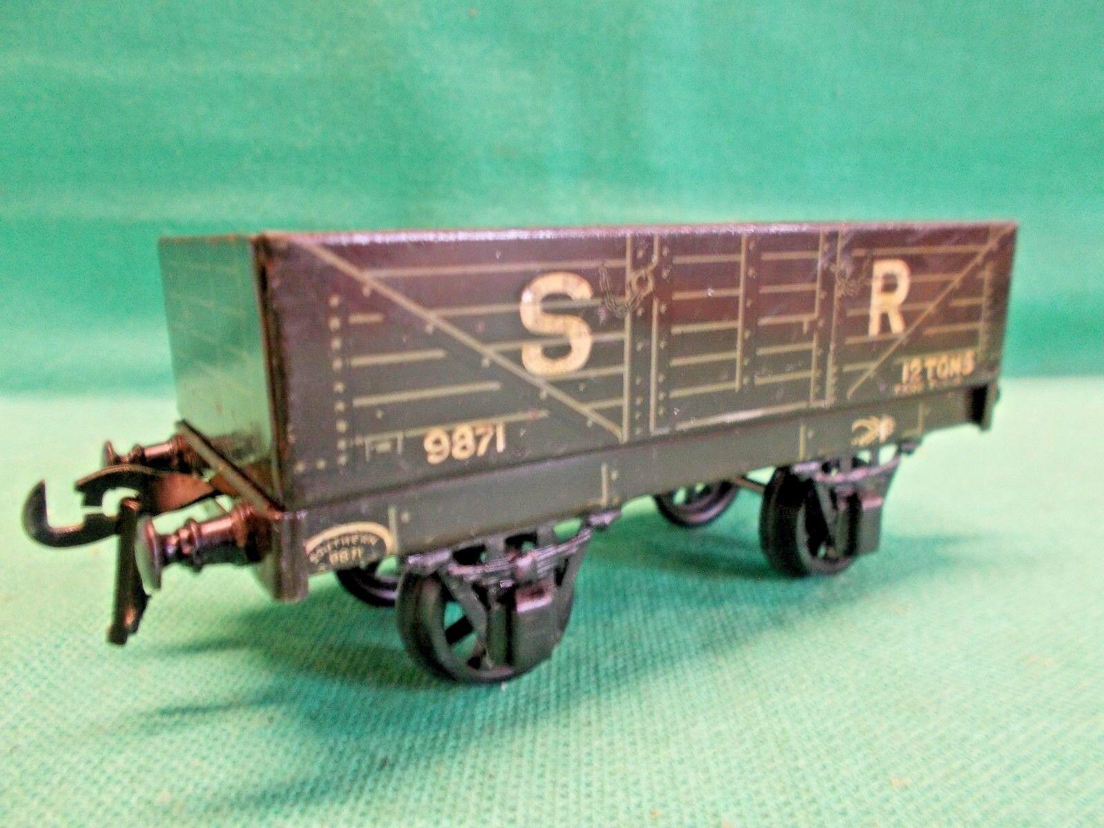 BASSETT LOWKE O Gauge 1931 Series S.R. OPEN WAGON Excellent Example'B', Spur 0
