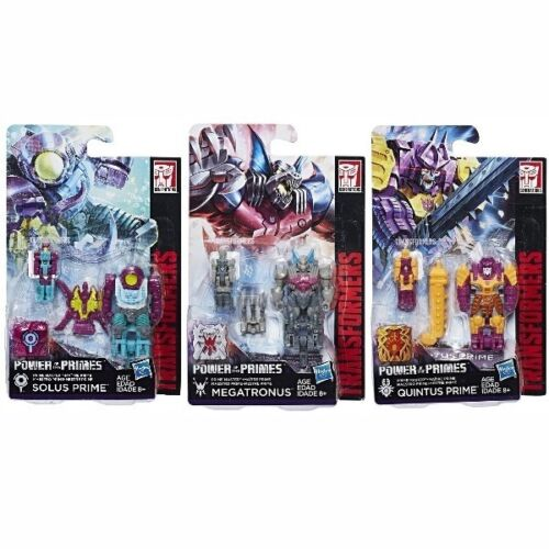 Transformers Power of the Primes POTP W3 Quintus Prime Solus Megatronus New
