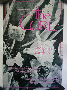 The-Cure-Shelleyan-Orphan-Oakland-Coliseum-1989-Concert-Poster-BGP-33