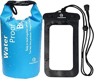Details About Dry Sack Bags Waterproof Bag Beach Camping Fishing Outdoor Small Blue 2l