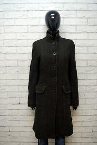 Cappotto-MAX-MARA-Trench-Donna-Size-48-L-Giacca-Giubbino-Lana-Jacket-Marrone
