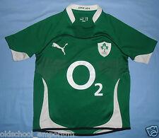 Ireland (IRFU) / 2010-2011 Home - PUMA - JUNIOR rugby Shirt / Jersey. 14y, 164cm