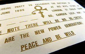 PRINCE-Birthday-1995-June-7th-LONDON-NPG-Store-Official-TICKET-Invite-Gold-Embos
