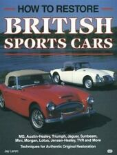 HOW TO RESTORE BRITISH SPORTS CARS BY JAY LAMM MG AUSTIN HEALEY JAGUAR NEW COND