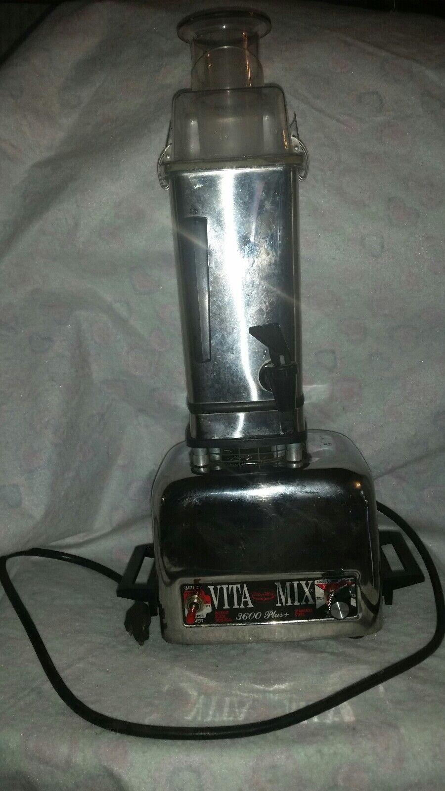 Vintage 3600 Vita mix Plus Blender Heavy Duty Reversible Motor