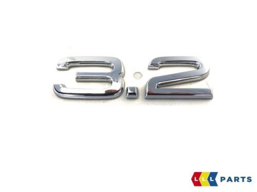 NEW GENUINE AUDI A3 S3 A4 S4 A5 S5 A6 S6 TT 3.2 EMBLEM BADGE CHROME 8P0853743D