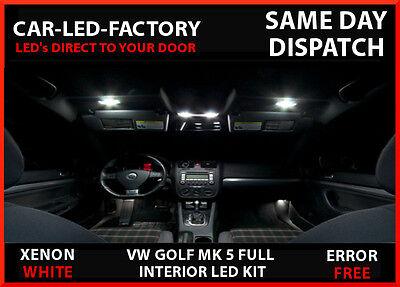 Vw Golf Mk 5 Gti Interior Upgrade Lighting 12 Led Replacement Bulb