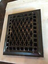 Antique Heating Grate Cast Iron Tc 50