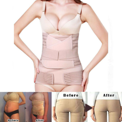 Lady Postpartum Belt Belly Wrap Body Shaper Support Recovery Girdle After Birth