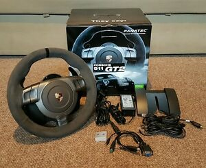 fanatec porsche 911 gt2 wheel eu ebay. Black Bedroom Furniture Sets. Home Design Ideas