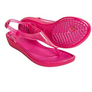 Crocs womens really sexi t strap sandal