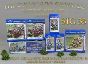 The-Collectors-Showcase-WWII-GERMAN-ARTILLERY-TRAIN-SIG-33-NEUF-NEW