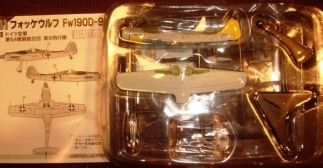 F-Toys 1:144 Wing Kit Vol.8 (1S) Focke-Wulf Fw190D-9 Case Special Secret Item