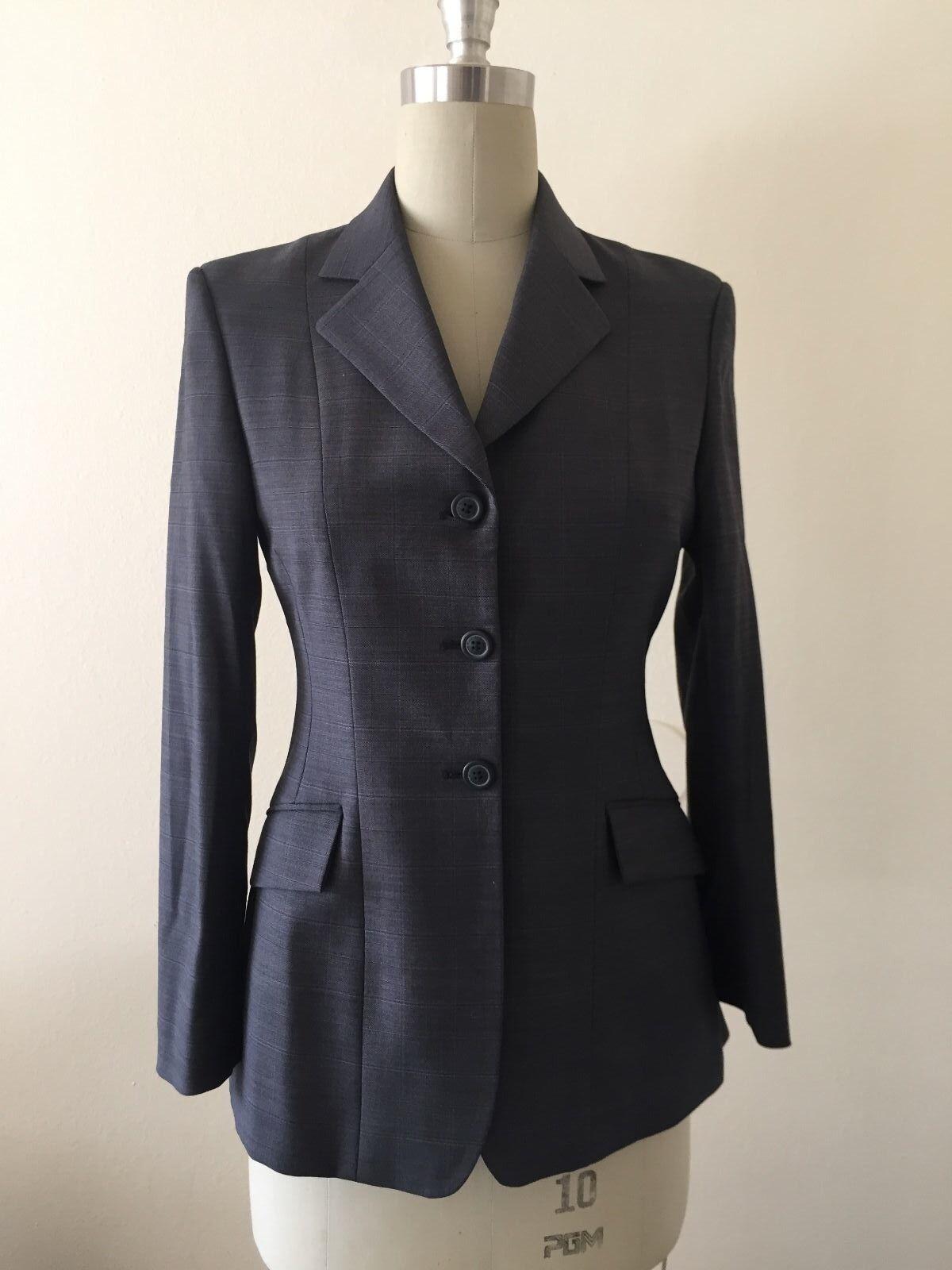 R.J. Classics Prestige Collection  Equestrian Show Coat Blazer Size 4R  support wholesale retail
