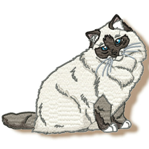 REALISTIC RAGDOLL CATS 10 MACHINE EMBROIDERY DESIGNS CD or USB