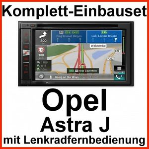 complete set opel astra j pioneer avic f980bt navi. Black Bedroom Furniture Sets. Home Design Ideas