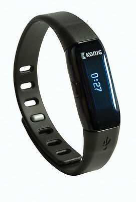 Bluetooth Smartwatch Aktivitätsmesser Armband Fitness Sport Samsung galaxy S 5