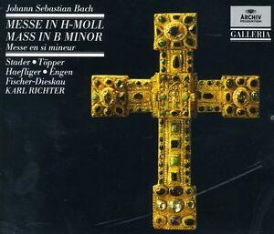 Karl-Richter-J-S-Bach-Mass-in-B-minor-New-CD-UK-Import
