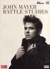 John Mayer Battle Studies Easy Guitar Learn to Play Pop TAB Music Book