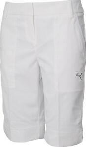 cddfea09605a Image is loading Puma-Tech-Womens-Golf-Shorts-White
