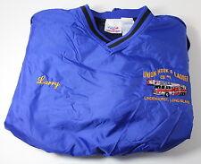 Rawlings Men's XL Union Hook & Ladder Long Island NY Firefighter Jacket Pullover