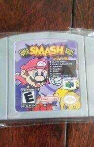 Nintendo-N64-Super-Smash-Bros-7-NES-Games-Video-Game-Cartridge-US-SELLER