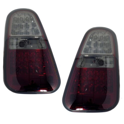 /< RLM985-Smoked  Rear Light Kit LED Smoked lens with REVERSE for BMW Mini one //