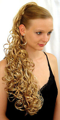 """25"""" LONG BIG LOOSE WAVES CURLS CURLY HAIR HAIRDO HAIRPIECE PONYTAIL CLAW CLIP"""
