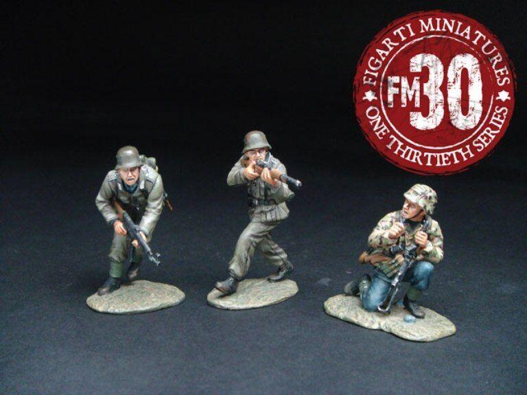 FIGARTI PEWTER WW2 GERMAN ETG-024 DEFEND OR DIE MIB