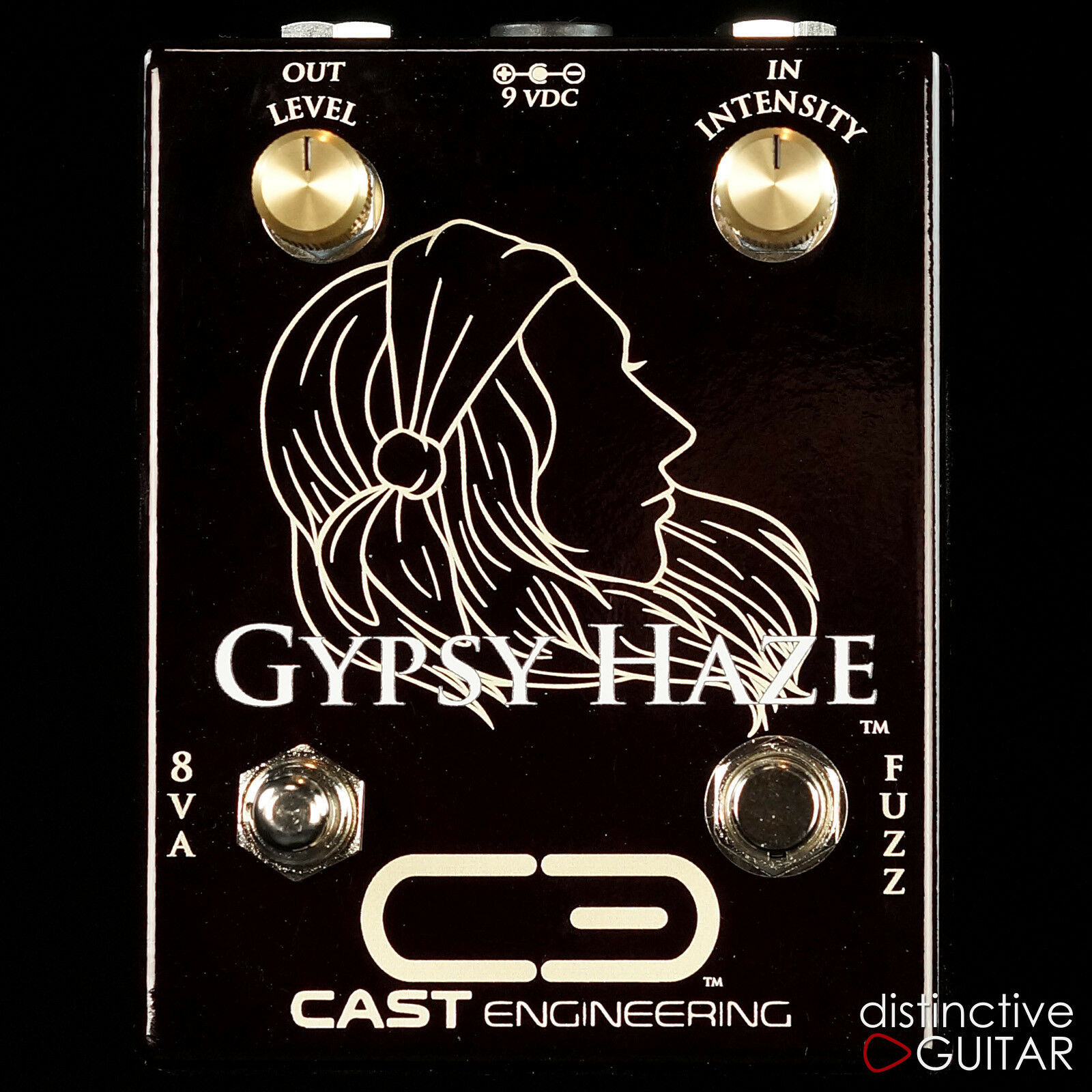 NEW CAST ENGINEERING GYPSY HAZE FUZZ GUITAR EFFECTS PEDAL DISTORTION
