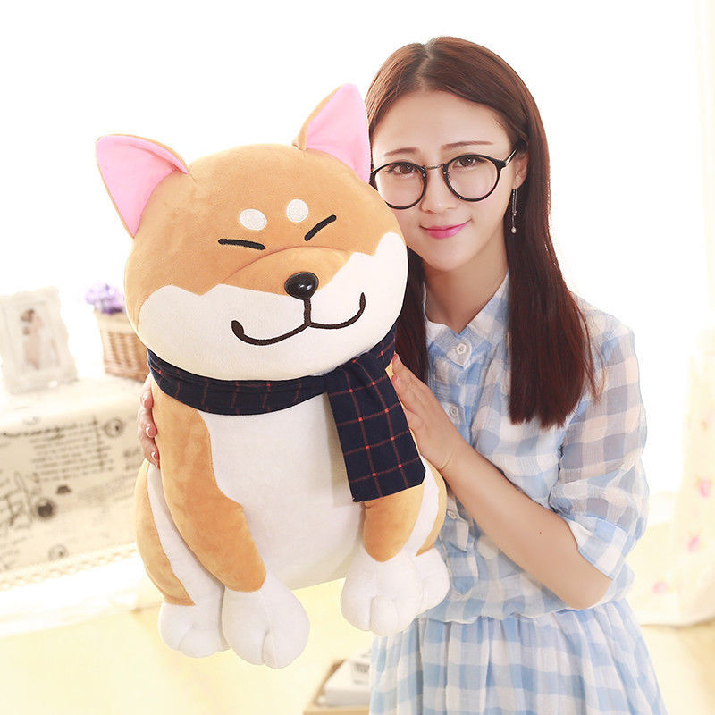 Anime Japanese Shiba Inu Plush Doll Puppy Dog Stuffed Cute Doge Soft Toys gifts