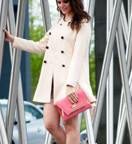 Hem Large Nude 040 To Frill Zara Coat Ref With 5274 Size PZwFOXq