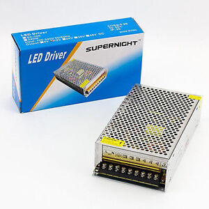SUPERNIGHT™ 12V DC 20A 240W Regulated Switching Power Supply for LED Strip Light