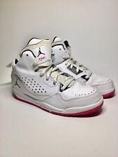 on sale fa452 88e2a item 1 NIKE JORDAN FLIGHT ORIGIN- Hi Youth Kid s Girls Shoe White  Pink  Size 2Y US -NIKE JORDAN FLIGHT ORIGIN- Hi Youth Kid s Girls Shoe White  Pink  Size 2Y ...