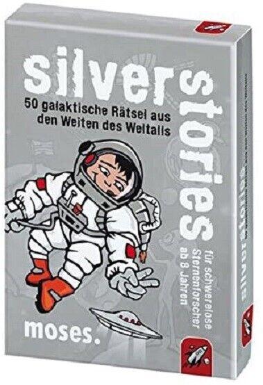 Moses 77604 - black Stories Junior : silver Stories  - Neu & OVP