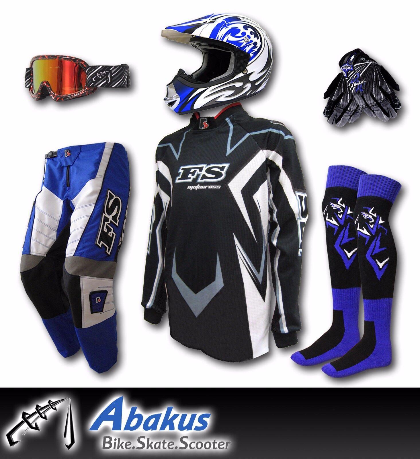 Dirt Bike Gears : Youth motocross jersey pants gloves helmet as mx dirt