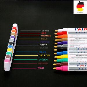 12-x-farbig-Reifenmarker-Reifen-Markierstift-Reifenstift-Reifenkreide-KFZ-AUTOOL
