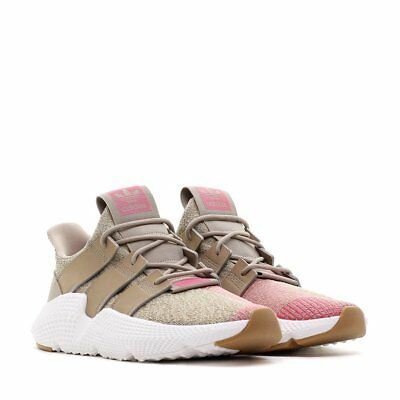 ADIDAS PROPHERE TRACE LOW TRAINERS SNEAKERS MEN SHOES KHAKI/PINK SIZE 10.5 NEW