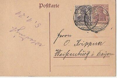 Ernst Habinghorst Taille Und Sehnen StäRken ka Postkarte Mischfrankatur