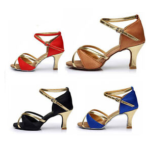 Brand-new-ballroom-heeled-Latin-Dance-Shoes-for-Women-Ladies-Girls-Tango-amp-Salsa