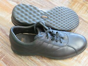 Alternativa Made in Italy Womens Black lace up Point Shoes Size  Eu 39 US 8