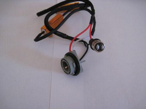 2 pcs 1157  LED 50W Load Resistor Adapter Anti Hyper Flashing Error Canceler